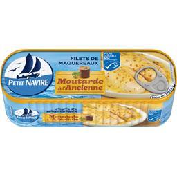 Filets de maquereaux à la moutarde à l'ancienne