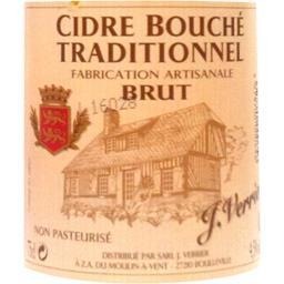Cidre bouché traditionnel brut