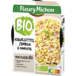 BIO - Coquillettes au jambon & à l'emmental BIO