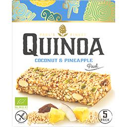 Barre quinoa ananas noix de coco BIO