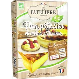BIO - Flan pâtissier et crème pâtissière BIO