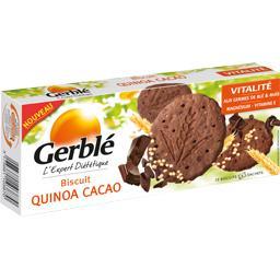 Biscuits quinoa cacao