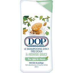 Le shampooing 2 en 1 très doux à l'amande douce