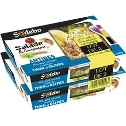 Sodeb'O Salade & Compagnie - Salades Antibes gressins et coo...