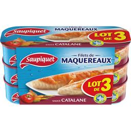 Saupiquet Filets de maquereaux à la Catalane