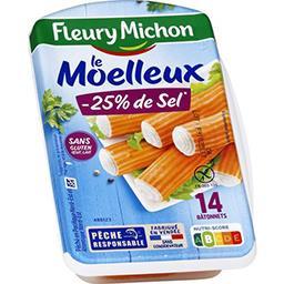 Bâtonnets surimi -25% de sel sans gluten