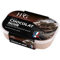 Glace chocolat noir