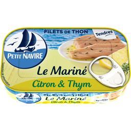 Filets de thon Le Mariné citron & thym