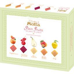 Boîte excellence 20 carrés plein fruits MOTTA 270g