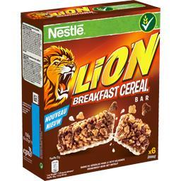 Nestlé Lion - Barre de céréales pour le petit déjeuner