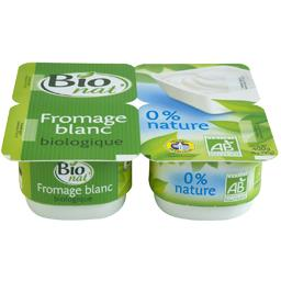 Fromage blanc nature 0% mat gr BIO