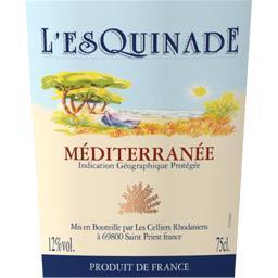 Vin de pays Méditerranée, vin rosé