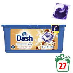 Lessive en capsules Perles 2en1 Soie & Freesia