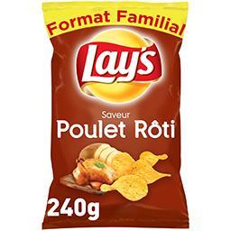 Chips saveur poulet rôti