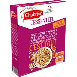 Chabrior L'Essentiel - Muesli gourmand la boite de 500 g