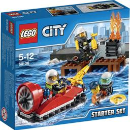 City - Ensemble de démarrage pompier