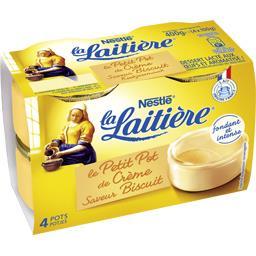 Le Petit Pot de Crème saveur biscuit