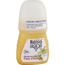 Déodorant 24 h extra doux fleur d'oranger