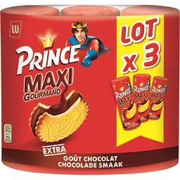 Prince - Biscuits fourrés Maxi goût chocolat