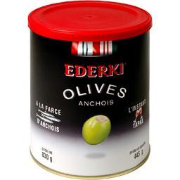 Olives a la farce d'anchois