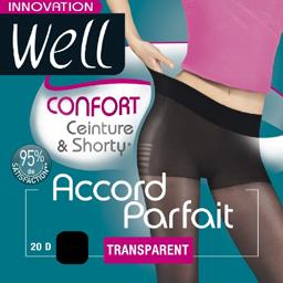 Accord Parfait - Collant confort T3 noir