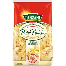Panzani Qualité Pâte Fraîche - Nouille dentelée le sachet de 400 g