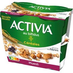 Activia - Spécialité laitière muesli