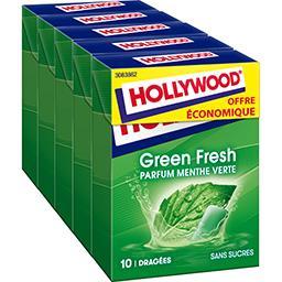 Chewing-gum Green Fresh parfum menthe verte