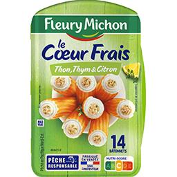 Le Cœur Marin - Surimi thon thym & citron