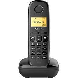 Téléphone sans fil AS 170, noir