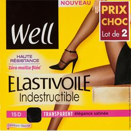Collant Elastivoile indestructible T 3 beige élégant