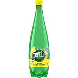Eau gazeuse saveur citron sans sucres