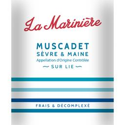 Muscadet Sèvre & Maine La Marinière, vin blanc