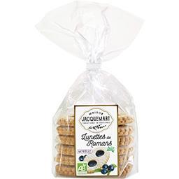 Maison Jacquemart Lunettes de Romans myrtilles BIO le paquet de 6 - 300 g