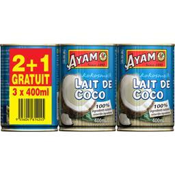 Ayam Lait de coco le boites de 400 ml
