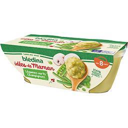 Les Idées de Maman - Légumes verts champignons, de 8...