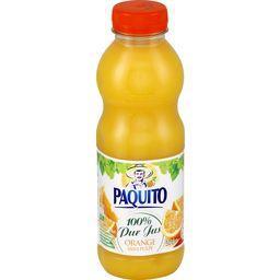 100% pur jus orange sans pulpe