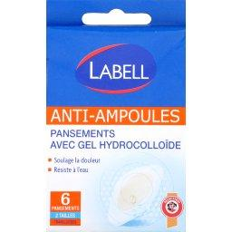 Pansements avec gel hydrocolloïde anti-ampoules