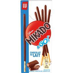 Mikado - Biscuits chocolat au lait Pocket & Go
