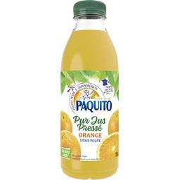 Paquito Jus oranges sans pulpe la bouteille de 1 l