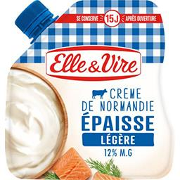 Crème de Normandie épaisse légère 12% MG