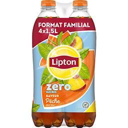 Lipton Boisson Ice Tea zero sucres saveur pêche