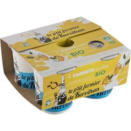 Yaourts au citron BIO