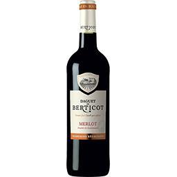 Vin de pays Atlantique Merlot, vin rouge