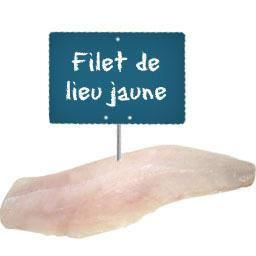 Filet de LIEU JAUNE
