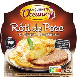 Rôti de porc & gratin dauphinois