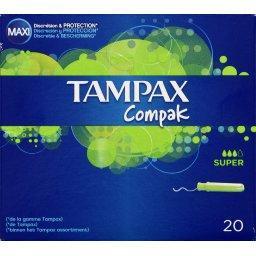 Compak - Tampons avec applicateur Super