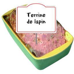 Terrine de LAPIN aux noisettes