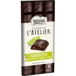 Les Recettes de L'Atelier - Chocolat noir citron vert