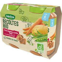 Les Récoltes BIO - Petits légumes bœuf BIO, dès 6 mo...